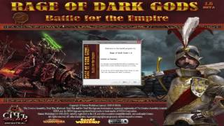 """Easy And Painfree"" How To Install Call Of Warhammer/Rage Of The Dark Gods 1.6 beta"