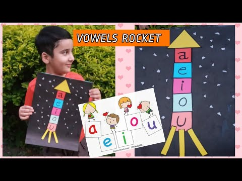 Learn vowels with simple activity