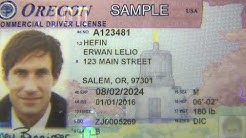 Oregon driver license gets bolder colors and stronger security features