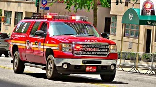 FDNY Battalion chief 8 Responding Lights and Sirens