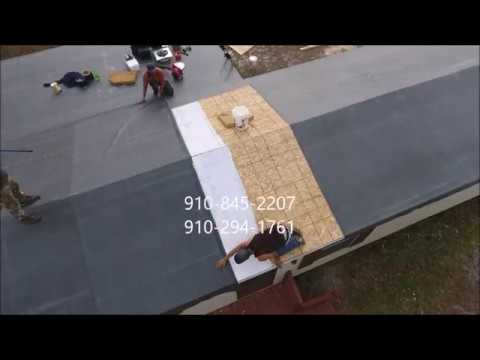 Mobile home trailer roof repair and how we did it