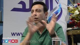 بالفيديو والصور.. محمد عبد الحافظ: لا أتدخل في ترتيب الأسماء علي التتر