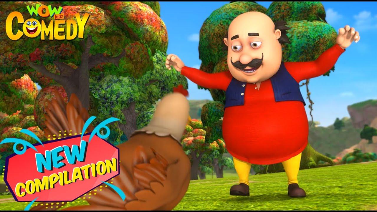 Motu Patlu Cartoon in Hindi | New Compilation 76 | New Cartoon | Hindi Cartoon