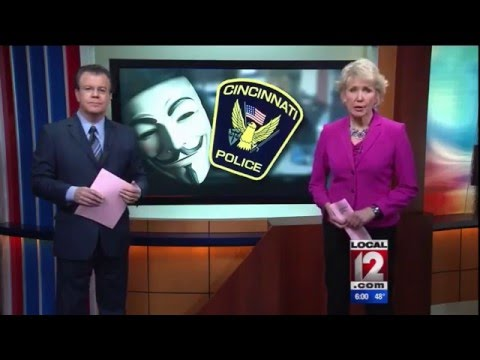 'Anonymous' hacker group 'declares war' on local police