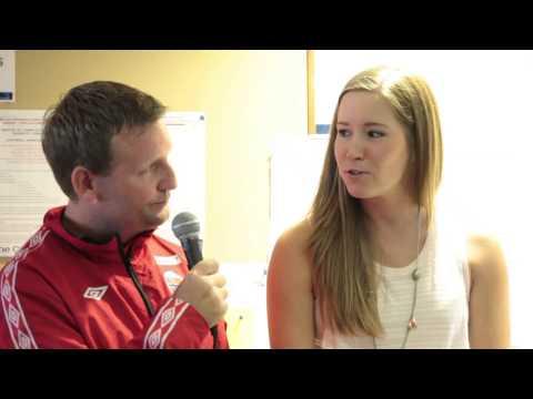 Capital One Celebrity Bonspiel - Peter Steski Interviews Olympic Gold Medallist Kaitlyn Lawes