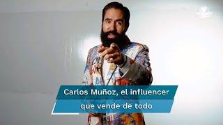 El influencer Carlos Muñoz dio de qué hablar esta semana por lo que dijo sobre un mesero en una de sus conferencias