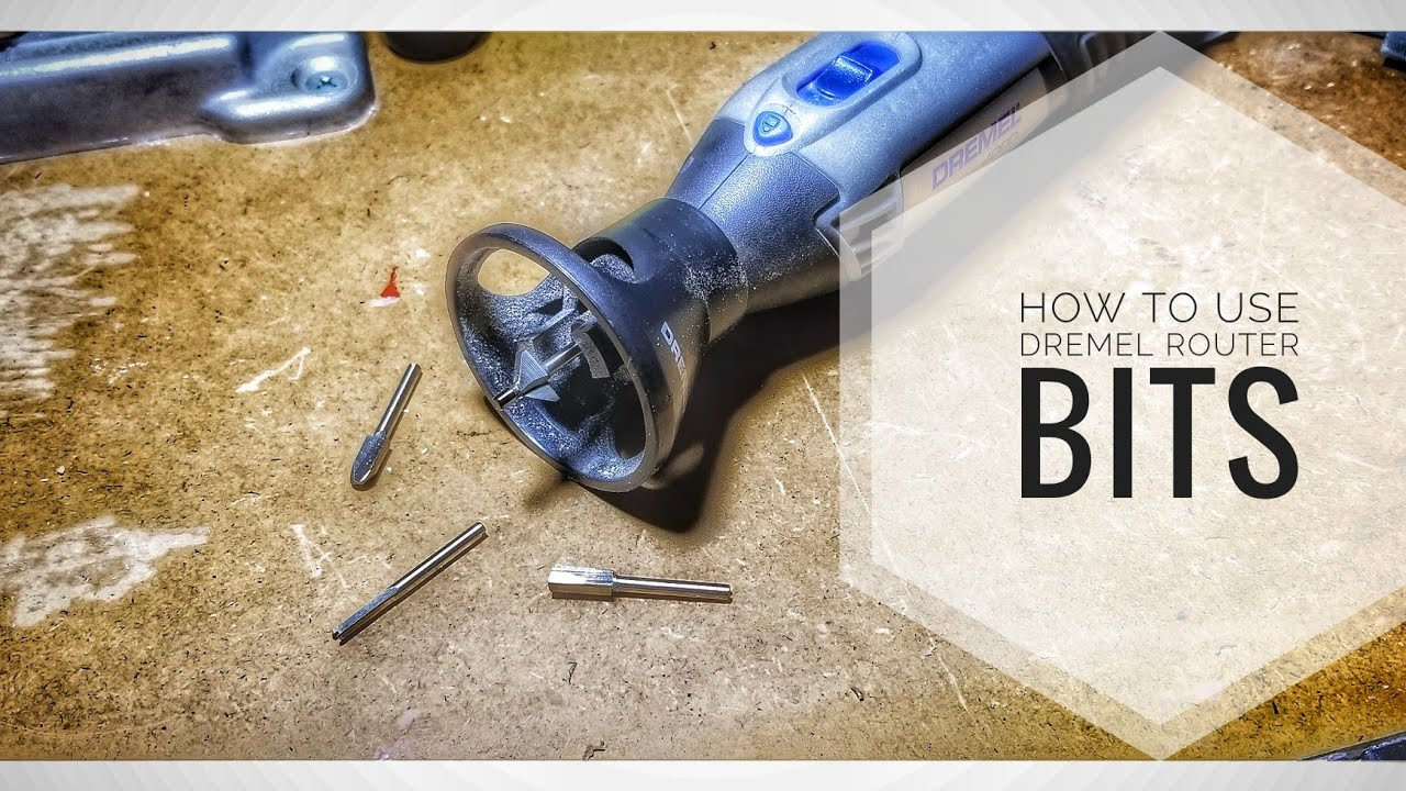 How To Use Dremel Router Bits Youtube