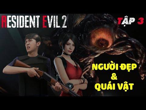 RESIDENT EVIL 2 CrisDevilGamer | Tập 3: NGƯỜI ĐẸP & QUÁI VẬT