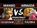 Kings of Cali 4 - Armada (Peach) Vs. Mango (Fox) - Grand Finals