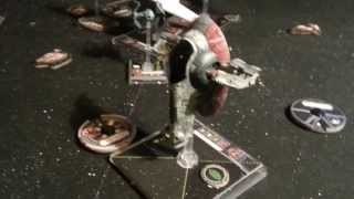 X-Wing Miniatures Game: 150 Point BatRep DeathBringa Vs TotalTyke