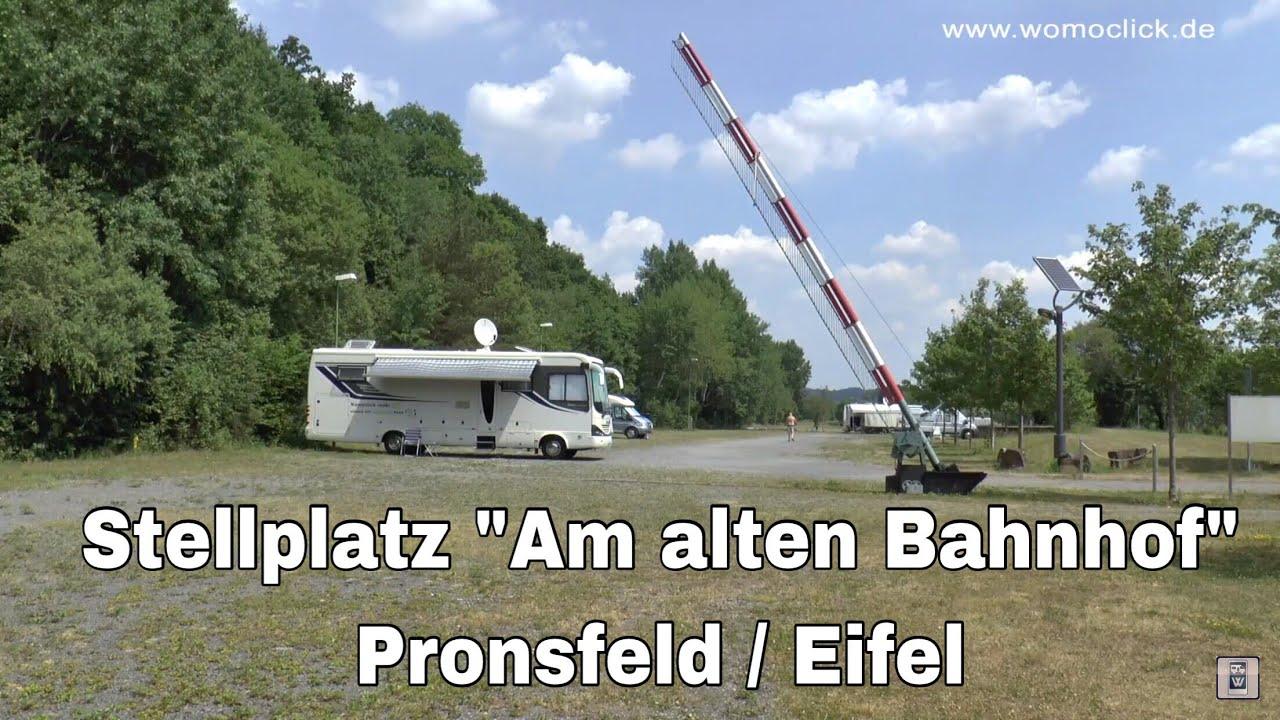 Wohnmobilstellplatz Pronsfeld Womoclick Youtube