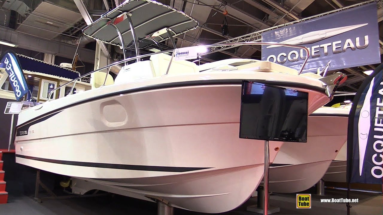 2017 ocqueteau ostrea 700 t top motor boat walkaround for Best outboard motor 2017