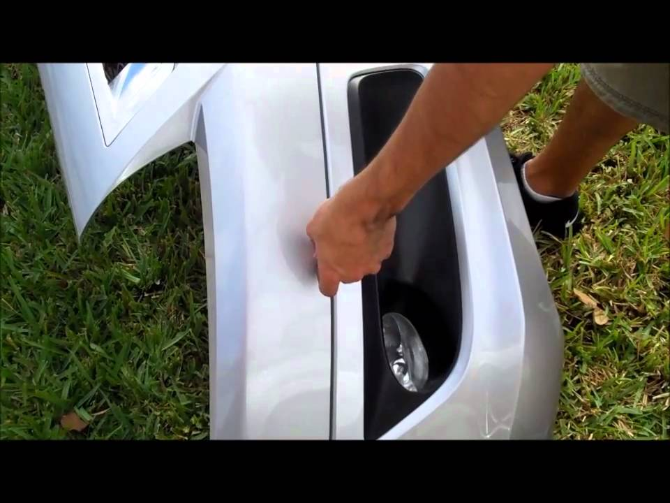 2008 2010 Accord Coupe Hfp Front Aero Lip Kit Install Diy