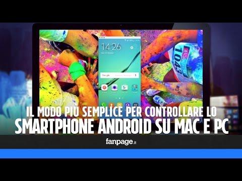 controllare smartphone android da mac