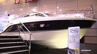 2016 Quicksilver Activ 805 Cruiser Motor Boat - Walkaround - 2015 Salon Nautique de Paris
