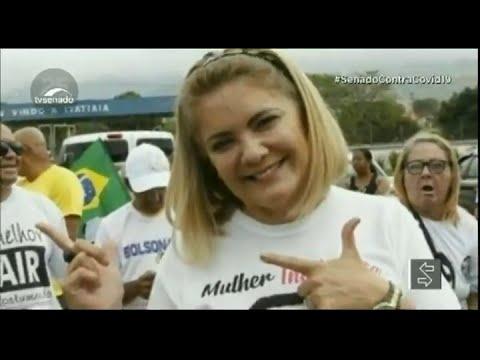 Download CPI pode votar convocação de ex-esposa de Bolsonaro