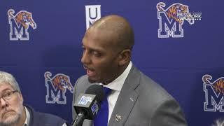 Memphis Basketball: Penny Hardaway Media Session