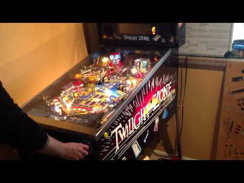 Twilight Zone Pinball.  Lost in the Zone, Powerball and more