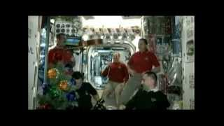 Station Crew Celebrates Christmas