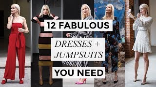 12 FABULOUS DRESSES + JUMPSUITS | Fashion + Style | Liv Judd