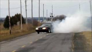 Mustang LX 347 BURNOUT again...