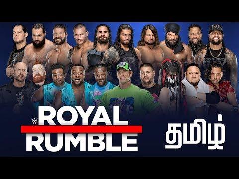 Wwe Royal Rumble 2018 Live 2k18 Tamil Lolgamer thumbnail