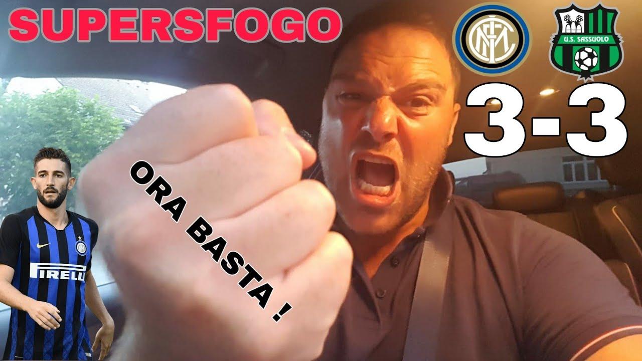 INTER-SASSUOLO 3-3 PIANGO PIANGO..GAGLIARDINI *piango
