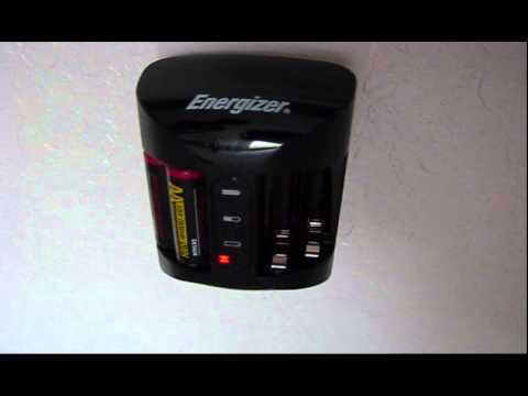 Energizer Recharge Pro Charger Part2 Youtube