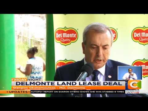 Delmonte signs 99-year land lease with county #FridayNight