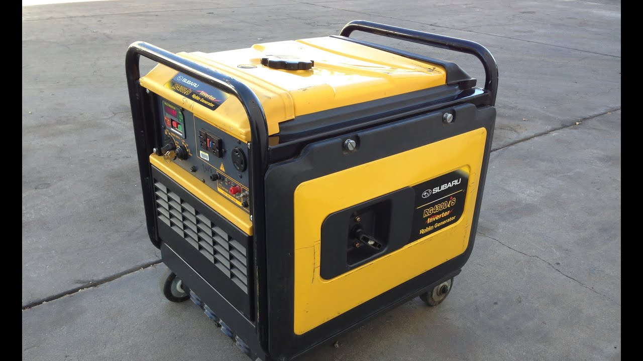 2006 Subaru Robin RG4300iS Silent Inverter Generator for sale