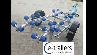 Gambar cover How to Launch & Recover your Boat the easy way - ROLLERS from e-trailers
