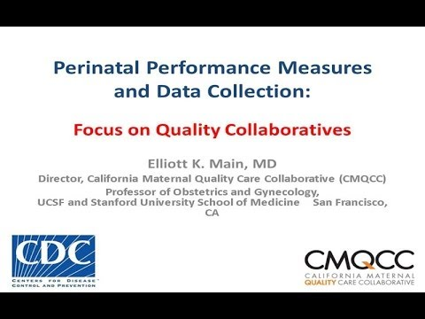 Perinatal Performance Measures and Data Collection