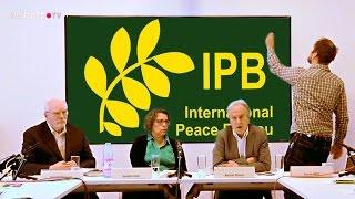 Abrüsten für den Frieden - Pressegespräch zum IPB World Congress