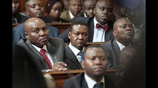 MACHAKOS MCA`S - ACCUSE GOVERNOR MUTUA OF MISAPPROPRIATION OF FUNDS IN THE COUNTY'S FINANCIAL
