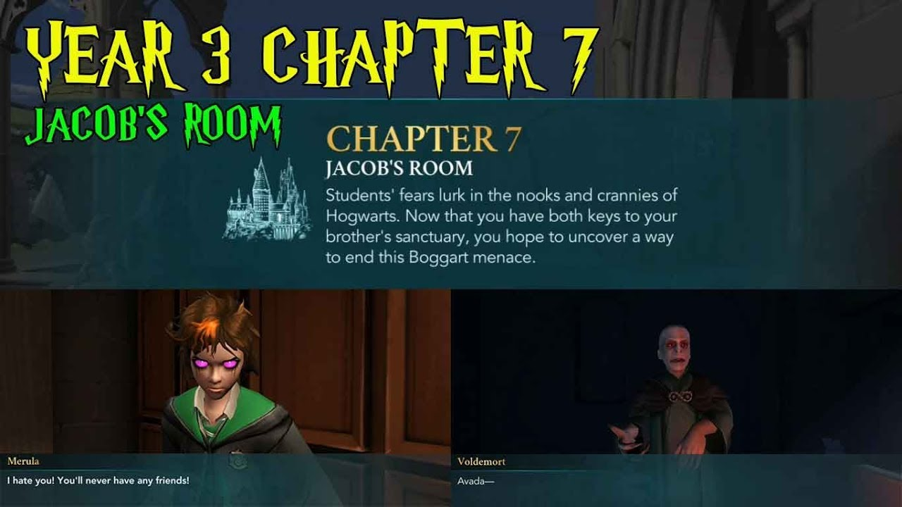 harry potter hogwarts mystery year 3 chapter 7 jacob 39 s room gameplay 2 youtube. Black Bedroom Furniture Sets. Home Design Ideas