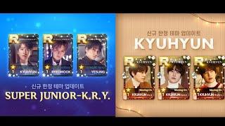 [Superstar SMTOWN] Kyuhyun & Super Junior K.R.Y LE Theme…
