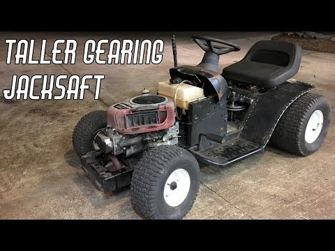 Racing Mower Pt. 5: Even More Speed & Jackshaft