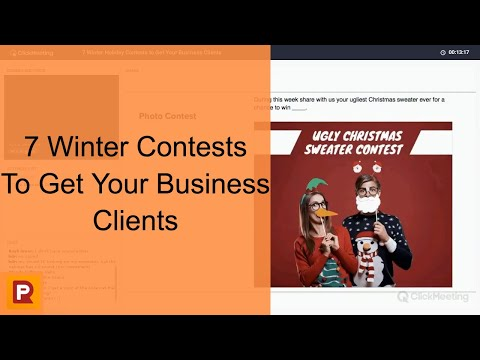 7 Winter Holiday Contests to Get Your Business Clients