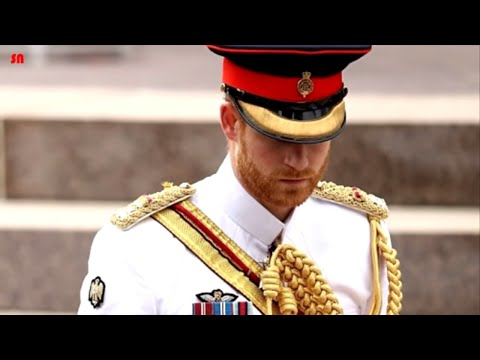 Prince Harry get emotional as Princess Diana's favorite hymn is performed at ANZAC Memorial