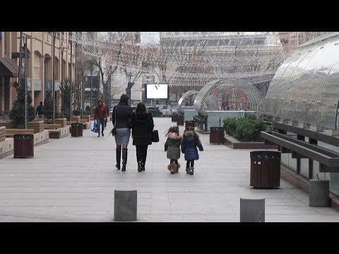 Yerevan, 14.01.18, Su, Video-1, (на рус.), ул. Пушкина, (ч.1).