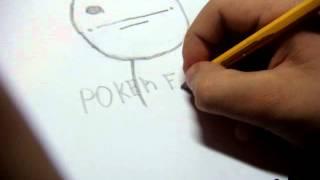 Как надо нарисовать Poker Face(В этом видео мы научимся рисовать Poker Face!!! смотрите,оценивайте,подписывайтесь!!! для связи : skype: stepa12373 !!! ..., 2012-10-15T19:05:32.000Z)