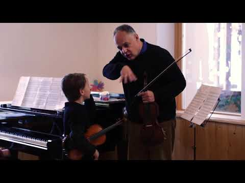 Miguel Negri Violin Masterclass: Kreisler Rondino on a theme of Beethoven