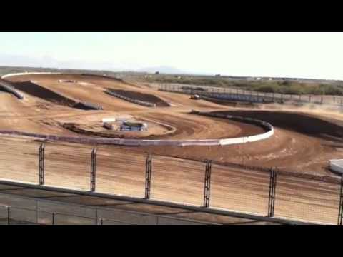 Liam Doran testing the Pro4 Short Course Off Road Truck @ Firebird, AZ
