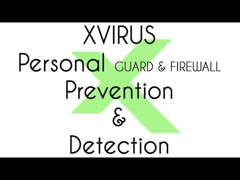 XVirus Personal Guard 6 BETA and Firewall Prevention and Detection test