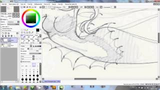 Winx club.Drawing lineart - Siren of Zenith part 1