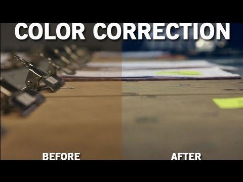 Sony Vegas - Color Correcting