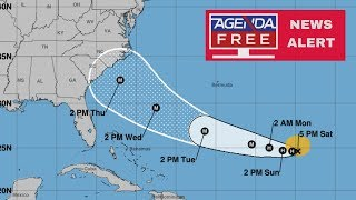 Florence Update: On Track for U.S. - LIVE COVERAGE 9/8/18