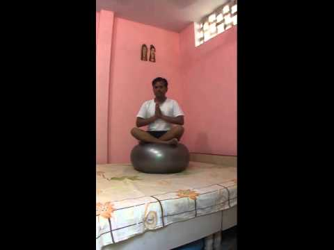 Longest Time Sitting On  Exercise Ball While Holding An Easy Pose