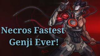 Necros Fastest Genji Ever Montage! Edited By GenjiMain
