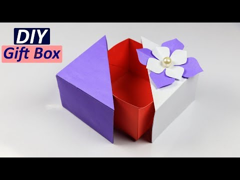 Gift Box: How to make a Unique DIY gift box | Gift Ideas 2018